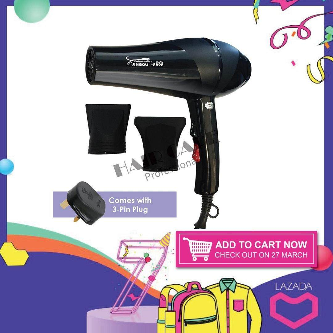 CLB-8898 Professional Cold   Hot 2300W Black Hair Dryer bde504469c