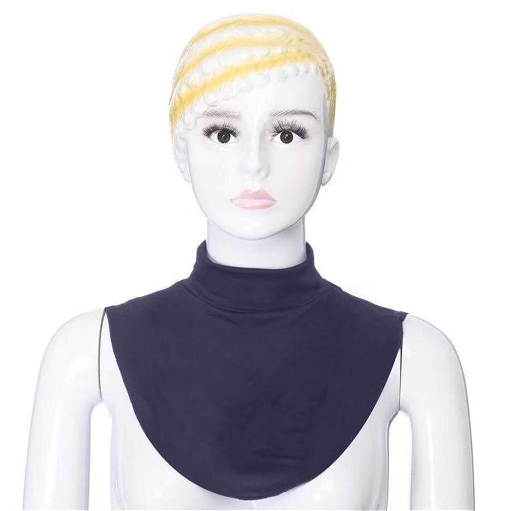 แฟชั่นผู้หญิงมุสลิมมุสลิมอิสลามเสื้อ Dickey Mock Modal คอฮิญาบ By Yuwenhuaji Shop.