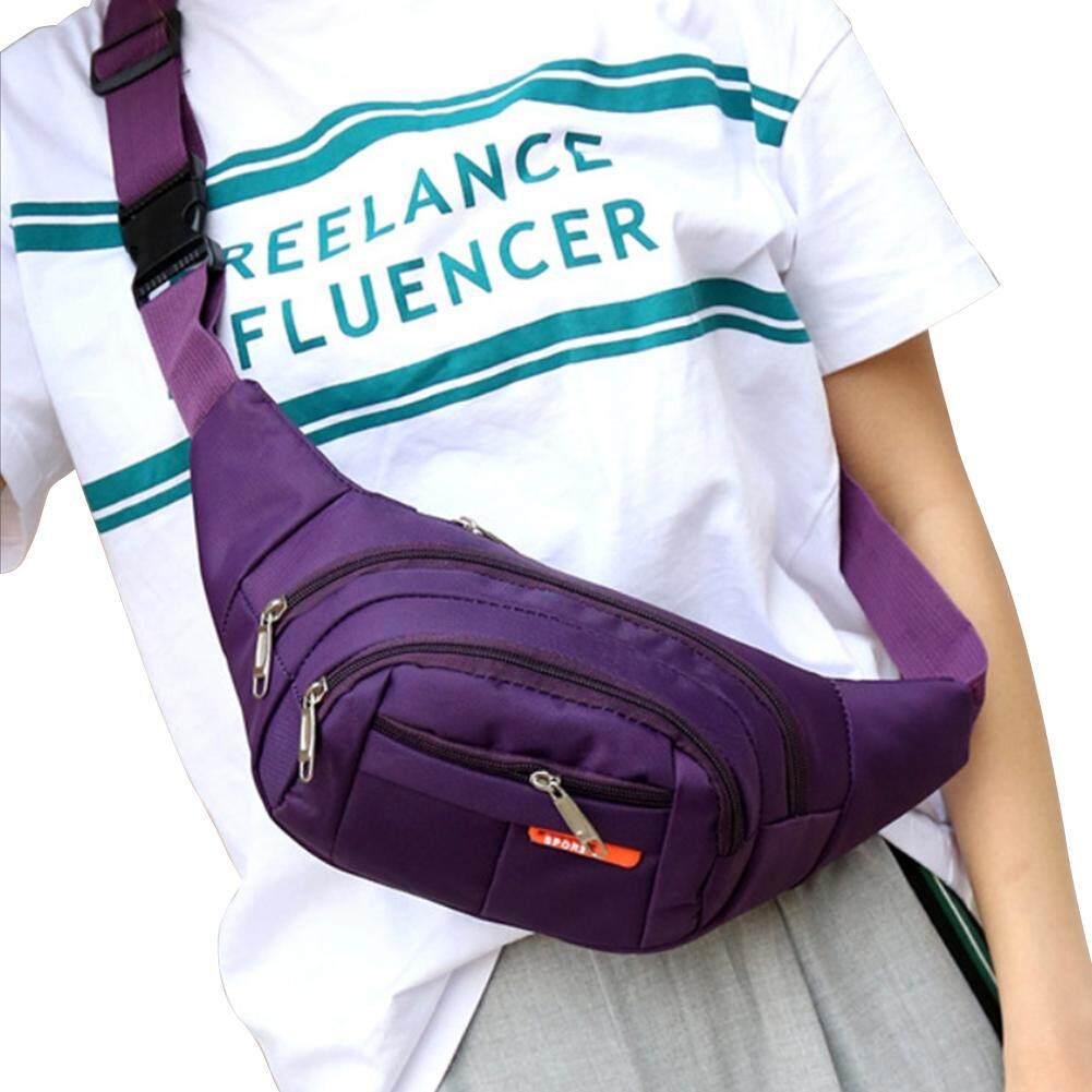 bb1df71c9561 Waist Pack Casual Men Women Pouch Belt Bag Sports Outdoors Phone Canvas  Travel