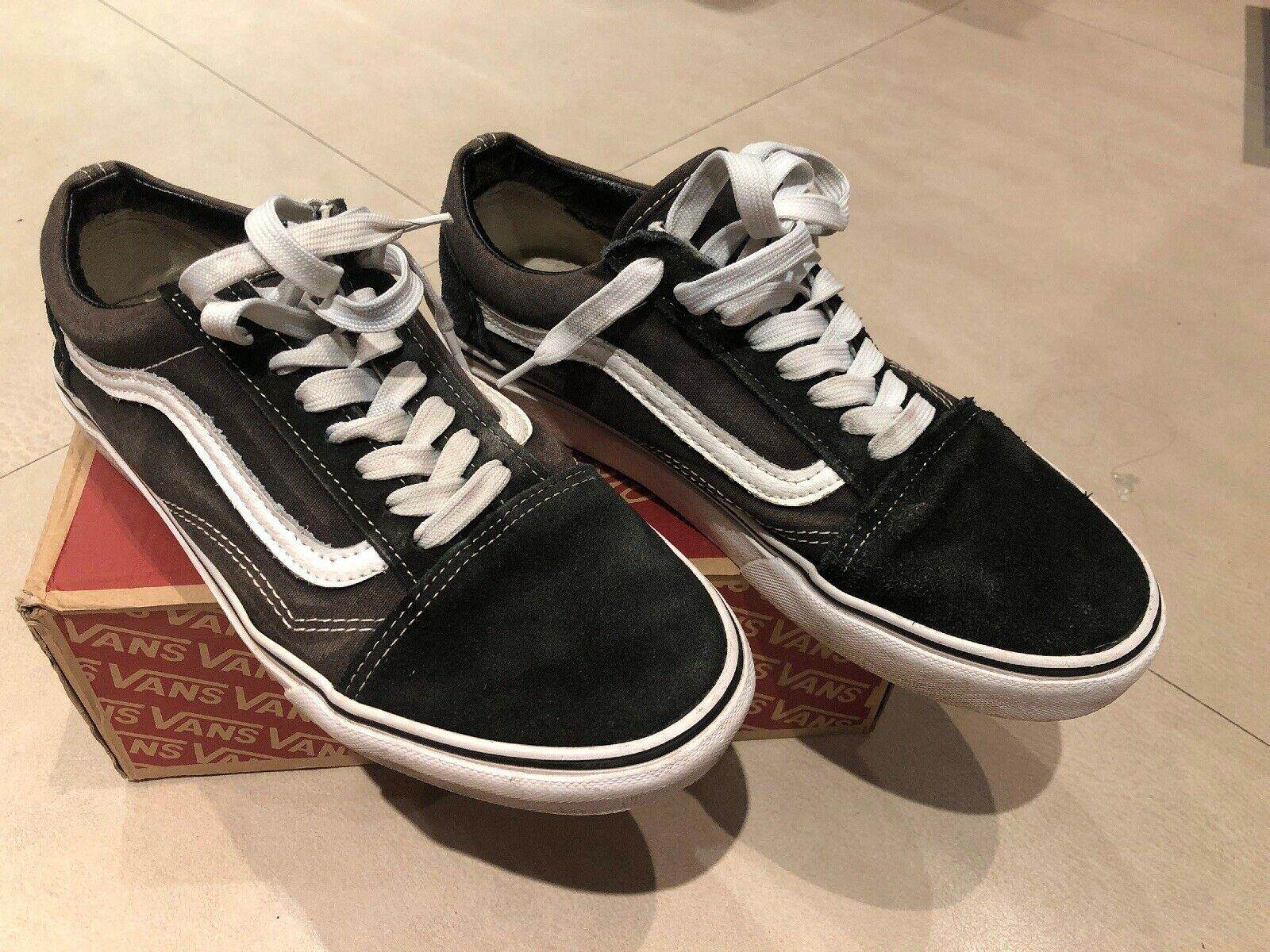 0c433425b50536 Vans Old Skool Suede and Canvas Trainers Size UK 8 Outdoor shoes