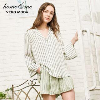 Vero Moda Quần Soóc Ruy Băng Trang Trí Nhiều Màu Kẻ Sọc Cho Nữ, 3191PA501 thumbnail