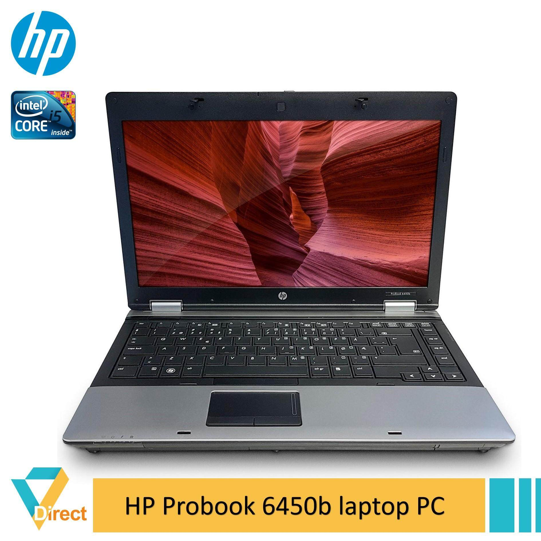 UP to 8GB RAM 960GB SSD HP ProBook 6450b laptop PC - also 4GB 250GB 500GB HDD 120GB 240Gb 480GB FULLY refurbished Malaysia