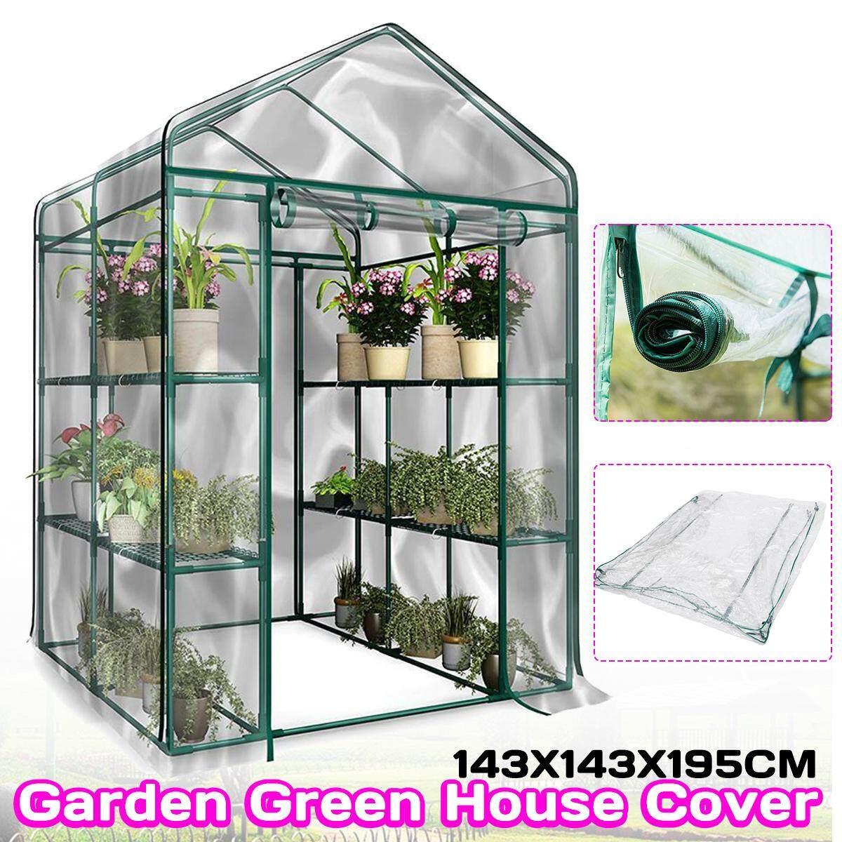 3-Tier Portable Greenhouse 6 Shelves PVC Cover Garden Cover Plants Flower House