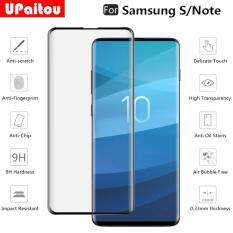 UPaitou Kính Cường Lực dành cho Samsung Galaxy Samsung Galaxy S10 S9 S8 Plus S10E Note 8 9 10 PRO Tấm Bảo Vệ Màn Hình 9H chống Cháy Nổ Hoàn Chỉnh Bao Gồm Kính cho Samsung S/Note Series