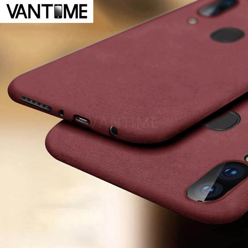 For Samsung Galaxy A20 Soft Sandstone Case, Ultra Thin Matte Back Protective Phone Casing Cover