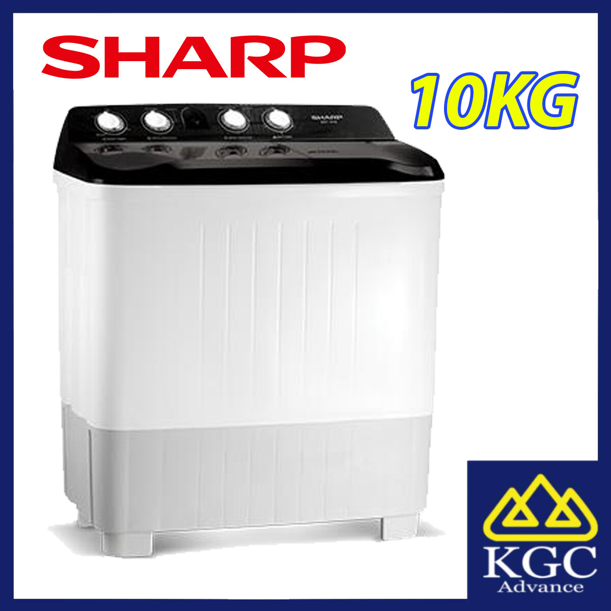 Sharp 14Kg Semi Auto Washing Machine Washer EST1416