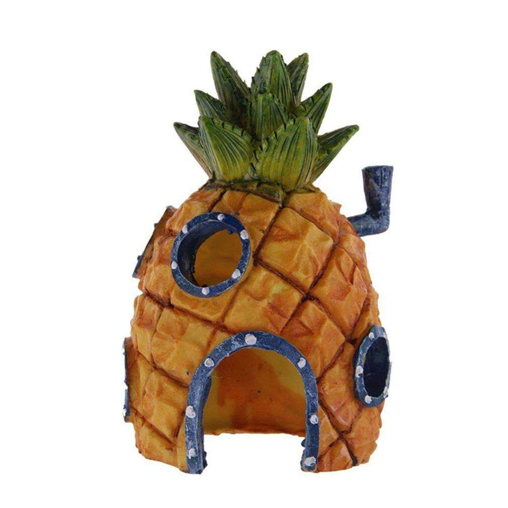 Osman 3 In 1 Unique Design Fish Tank Aquarium Decoration Pineapple House - Intl By Osmanthus.