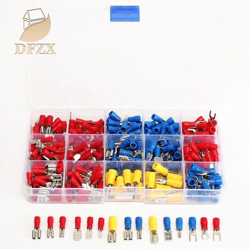 DFZX Trade 280pcs Assorted Crimp Spade Terminal Insulated Electrical Wire Connector Kit Set(Box Packing)