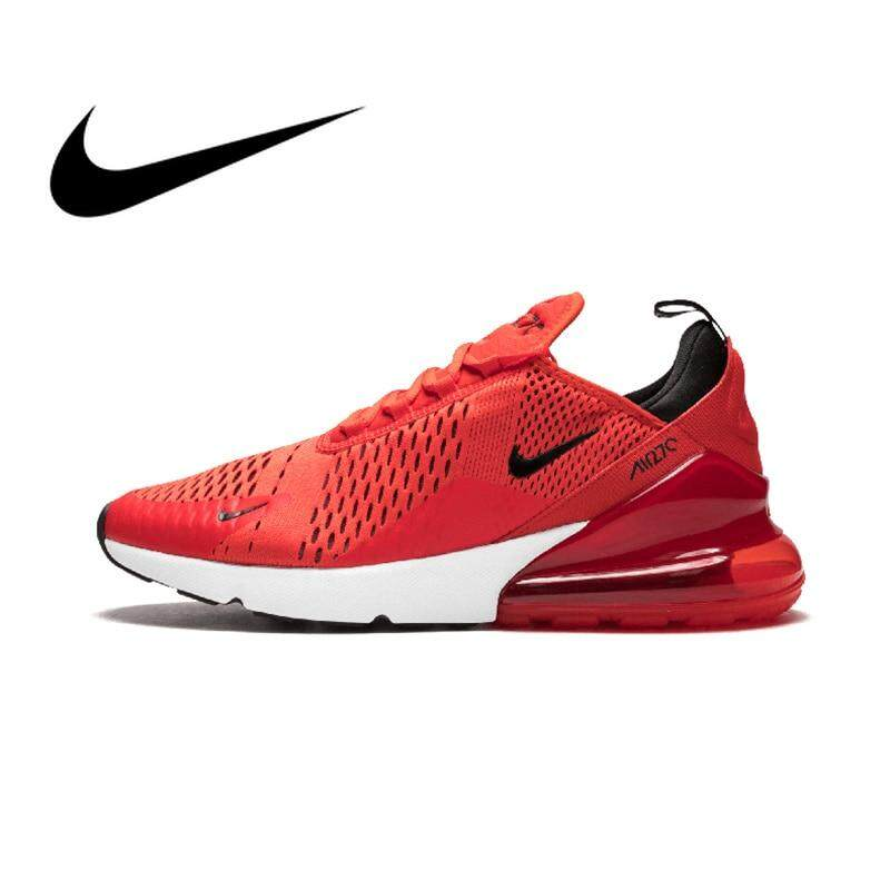 การใช้งาน  กระบี่ Original authentic Nike_AIR_Max_270 running shoes for men outdoor running shoes Athletic designer 2018 new arrival AH8050-601