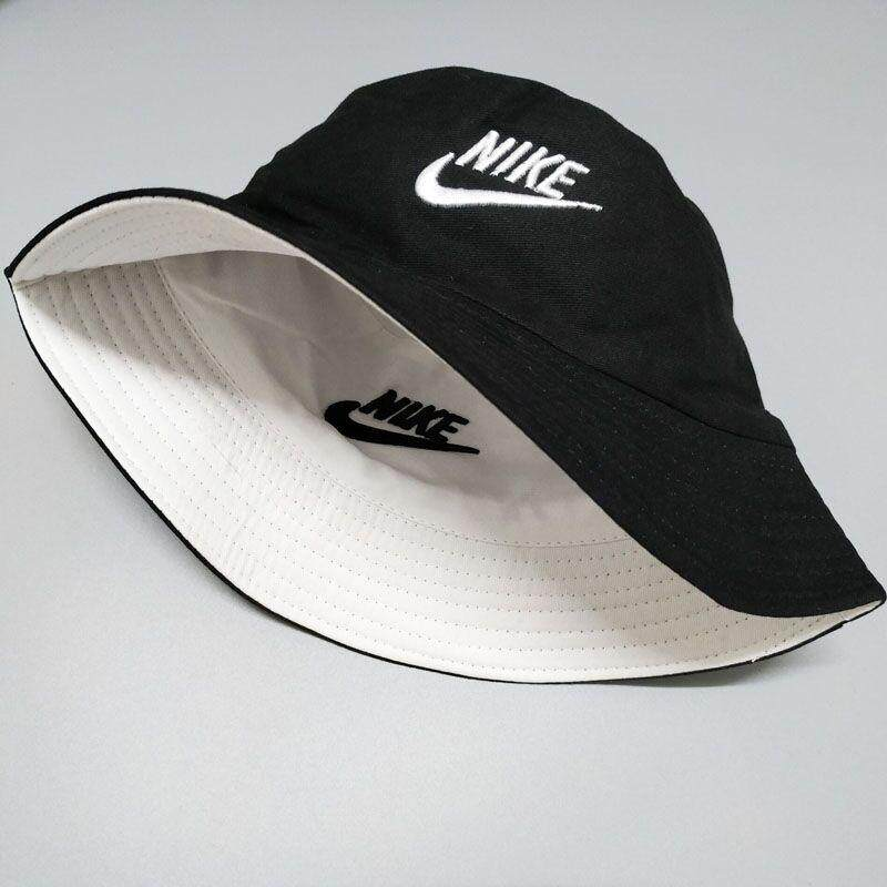 3a6b12e8a34 Original_Nike Cap 2019 Summer Classic Black and White Embroidered  Double-sided Fisherman Hat Wild Casual Outdoor Sports Sun Visor Cap Men and  women