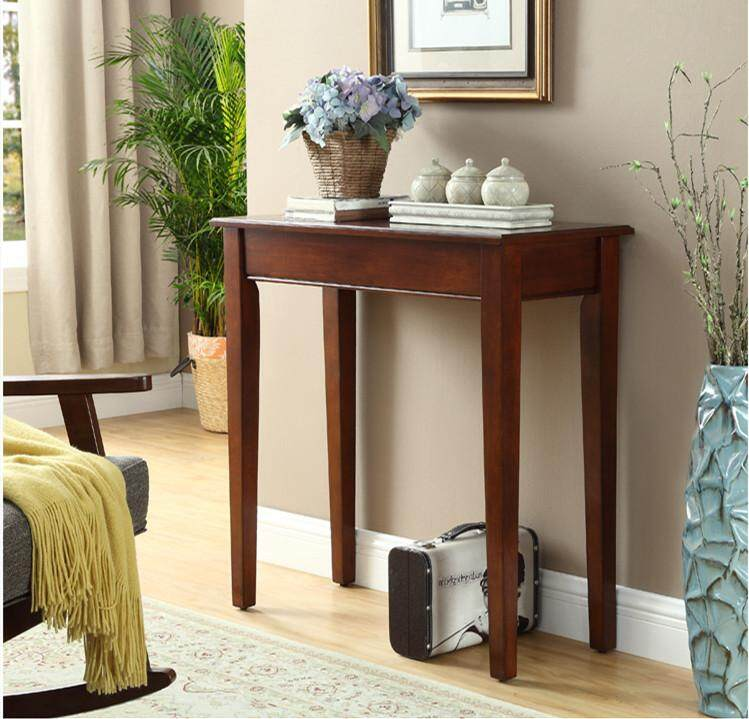 Console Table Solid Wood Great Quality with Great Wood by Olive Al Home