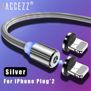 ACCEZZ Cáp Sạc USB Từ Tính 1M 2M Dành Cho iPhone 5 6 7 8 Plus X XS XR MAX Dây Sạc Điện Thoại Di Động Nam Châm thumbnail
