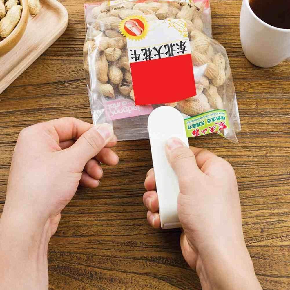 Betes Mini Mesin Penyegel Panas Portable Impuls Makanan Kemasan Segel Tas Plastik Alat