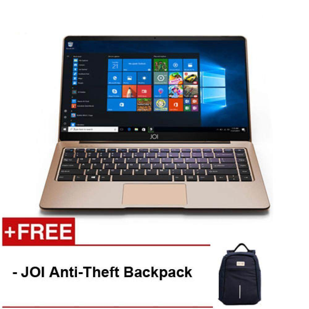 JOI Book 150 14.1  FHD IPS Laptop Gold ( N4100, 4GB, 32GB+256GB, Intel, W10H ) Malaysia