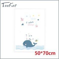 【Teeker】thảm Bông Thấm Nước Tiểu Cho Em Bé, Tấm Lót Thay Tã Bộ Đồ Giường Tã Trẻ Em Tái Sử Dụng, Tấm Lót Tã Lót Nệm 50*70CM