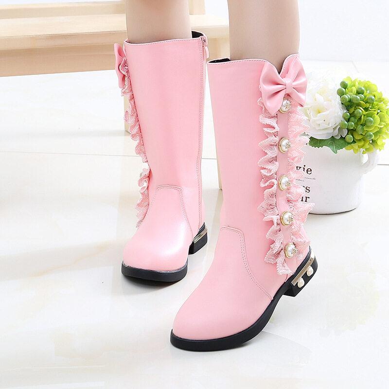 Girls Boots Warm Cotton Kids Fashion