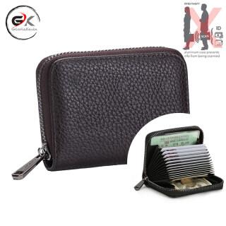 Hộp Đựng Thẻ RFID Glorakevin Ví Da PU Cho Nam Túi Đựng Tiền Ví Ngắn Cổ Điển Cho Nam Ví Mỏng Sức Chứa Lớn Cho Nam thumbnail