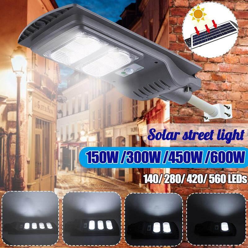 AUGIENB Waterproof Street Light Solar Panel 6500K ~ 7000K Cool White 280 LEDs High-brightness For Street/ Outdoor wall/ Garden/ Courtyard/ Street/ Walkway/ Pathway