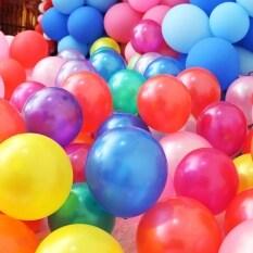 Tôi Yêu daddy & Mummy 100 cái/lô 10 inch Latex Wedding trang trí Đảng Balloon đầy màu sắc Helium dày ngọc trai Balloons đồ chơi trẻ em bóng