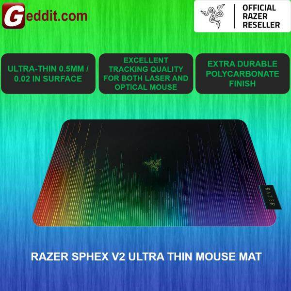 RAZER SPHEX V2 ULTRA THIN POLYCARBONATE GAMING MOUSE MAT  RZ02-01940100-R3M1 Malaysia