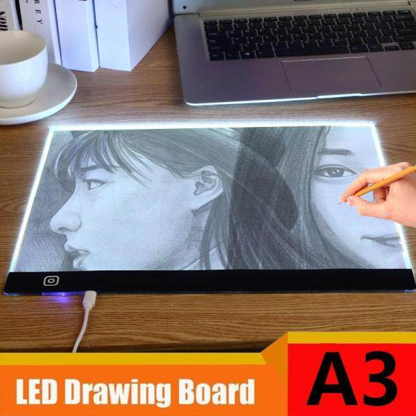 Portable Copy Board LED Light Box Tracer 5V Acrylic A3 Size Drawing Artists Animation Painting 5D DIY Diamond Drawing Tablet Tracing Board Table Art Copy Sketching