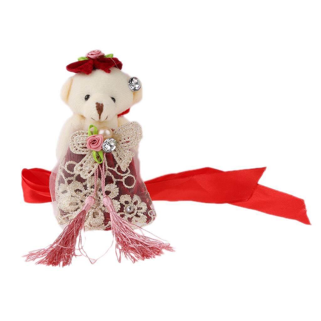 Loviver ประณีตหมีน้อยผ้าม่านแฮนด์เมดผ้าม่าน Tieback Home Decor By Loviver.