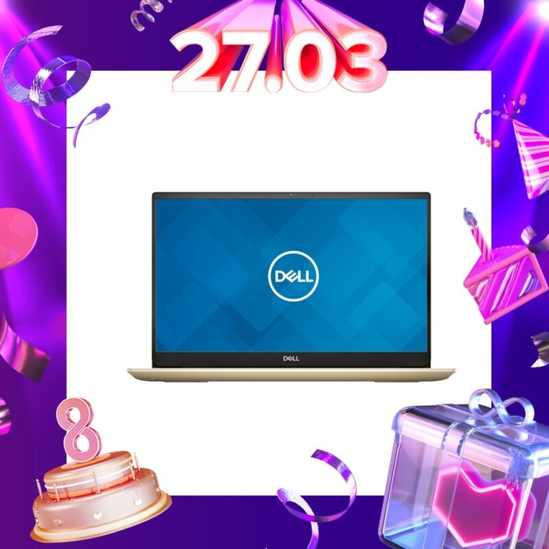 DELL INSPIRON14  5000 (5490-2142MX2G-W10-FHD-SSD14) LAPTOP PLATINUM SILVER/GOLD (i5-10210U/8GB/256GB/14.0  FHD/NVIDIA GeForce MX230 2GB GDDR5/W10/2YRS) + BACKPACK Malaysia