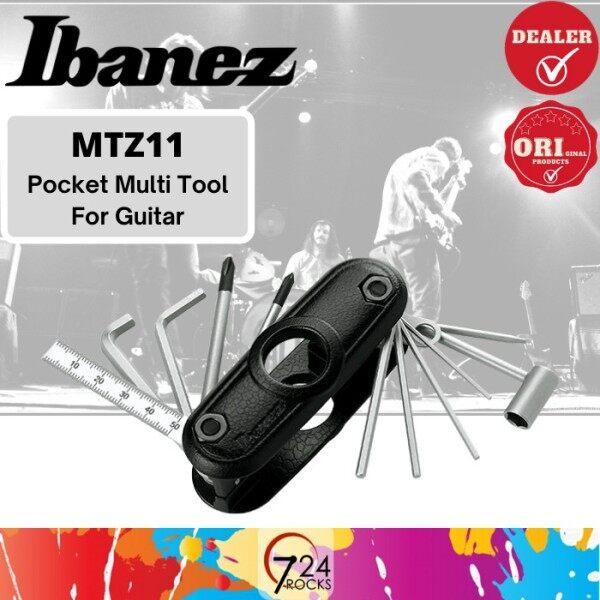 724 ROCKS Ibanez MTZ11 Pocket Multi Tool Manufactured for Guitar Malaysia