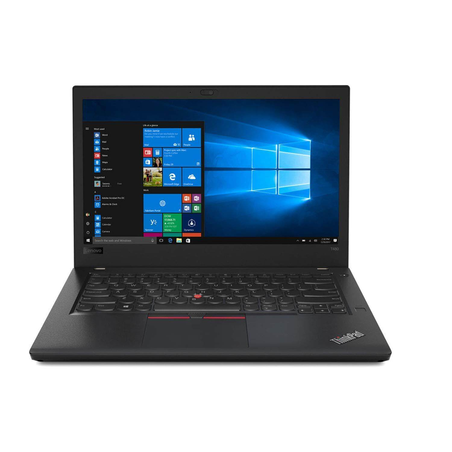 Lenovo ThinkPad T480 20L5S00L00 14 inch Laptop/Notebook (i7-8550U, 8GB, 128GB, 1TB, NV MX150, W10P) Malaysia