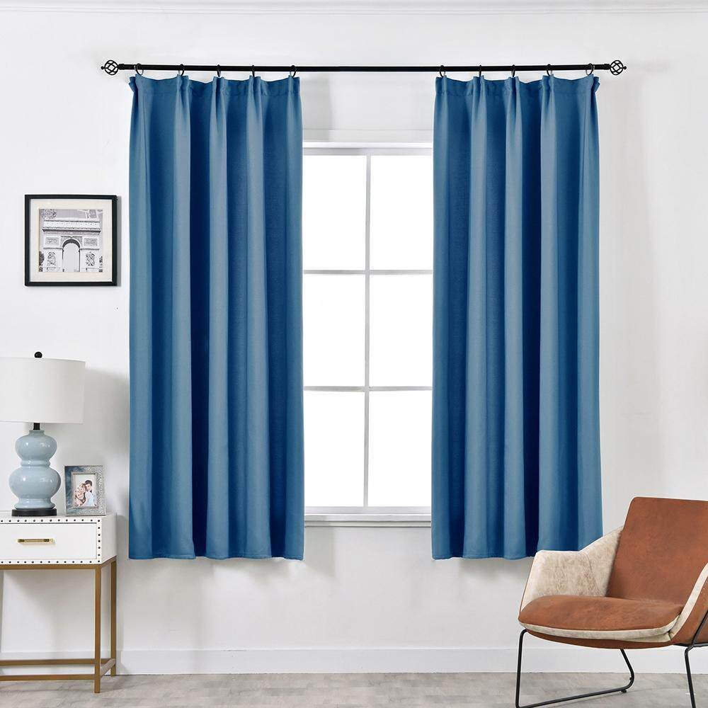 1 PCS 100X130 NAPEARL fashion solid color short curtain