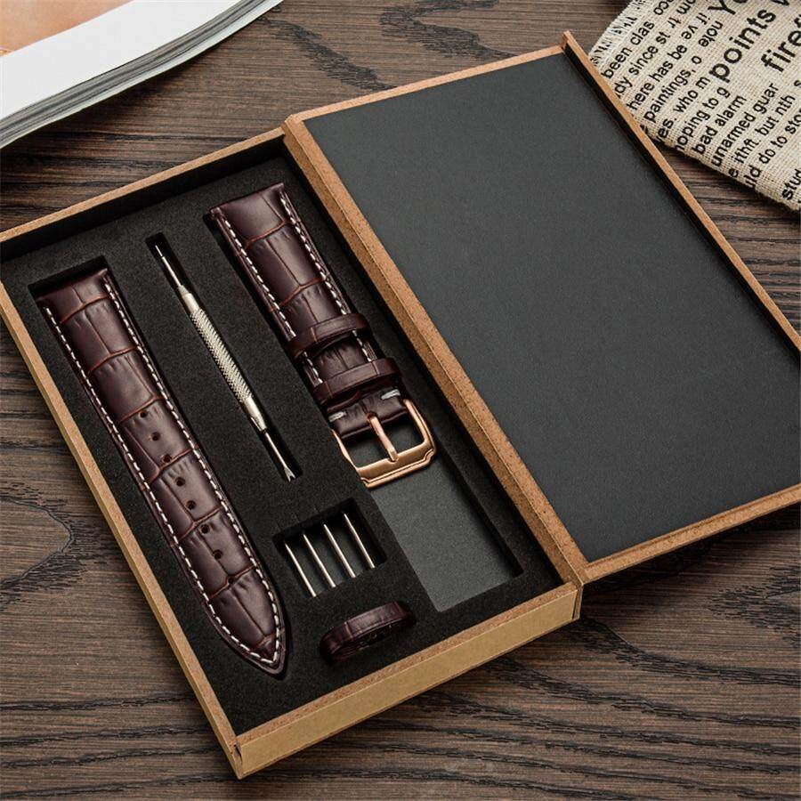 Genuine Leather Watch Band Strap for Samsung Galaxy gear s3/Sport Galaxy 42 46 Active Band 20m 22mm leather band quick Malaysia