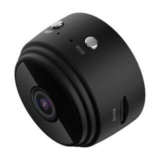 Camera WiFi Mini Có Dây 1080P HD Camera Phát Hiện Chuyển Động Nhìn Đêm Hồng Ngoại Thể Thao Camera Hd 1080P Thể Thao Aa9 Camera Nhỏ Camera Không Dây Wifi Đậu Hà Lan Mắt Đen thumbnail