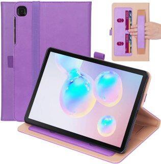 SM-P610 Cho Samsung Galaxy Tab S6 Lite 10.4 Inch 2020 Ví P615 P617 2020 Bao Da Có Ốp Lưng Bảo Vệ Bền Bao Điện Thoại Di Động Dạng Lật Folio Có Khe Cắm Thẻ, Tiền Mặt P thumbnail
