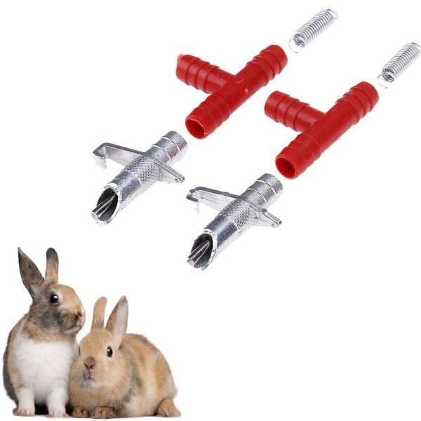 Bát 10 Bộ Thiết Bị Gia Cầm Tự Động Cho Thỏ Hamster Thỏ Uống Nước Dụng Cụ Cho Ăn Uống Nước