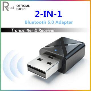 Bộ Phát USB Bluetooth Bộ Chuyển Đổi Âm Thanh Stereo Âm Thanh Không Dây 5.0 Đầu Thu Dongle Cho Loa Bluetooth PC T V Tai Nghe thumbnail