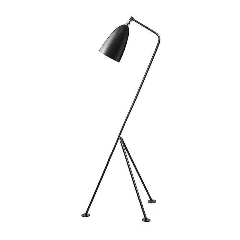 Nordic Modern Minimalist Lamps Living Room Coffee Table Bedroom Bedside Creative Personality LED Vertical Three-legged Floor Lamp