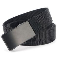 MEDYLA thắt lưng nam bằng vải có khóa tự động thắt lưng thiết kế thời trang đơn giản trẻ trung – INTL