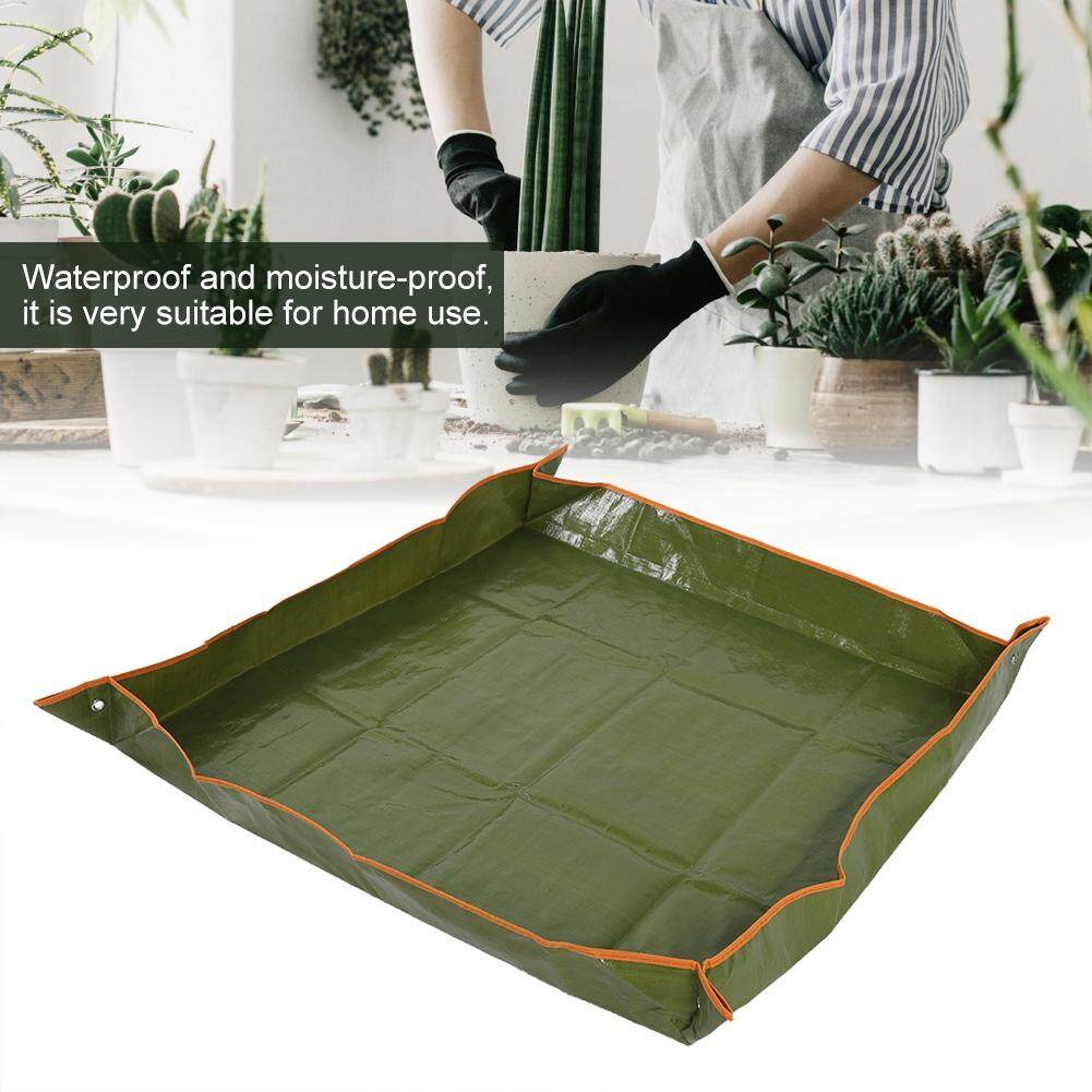 Garden Plant Seedling Repotting Tray Indoor Transplanting Operating Tidy Flower Potting Mat By Highfly.