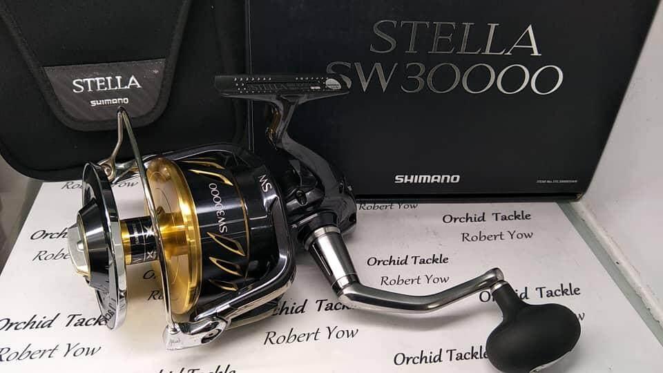 Shimano Stella SW8000-SW30000 OFFER PRICE Fishing Reel