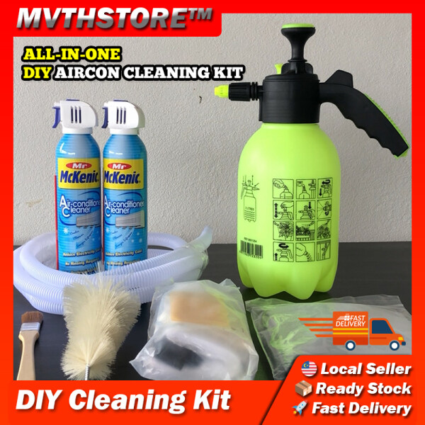 Mr Mckenic Aircond Cleaning Kit Aircon Spray Cleaner Set