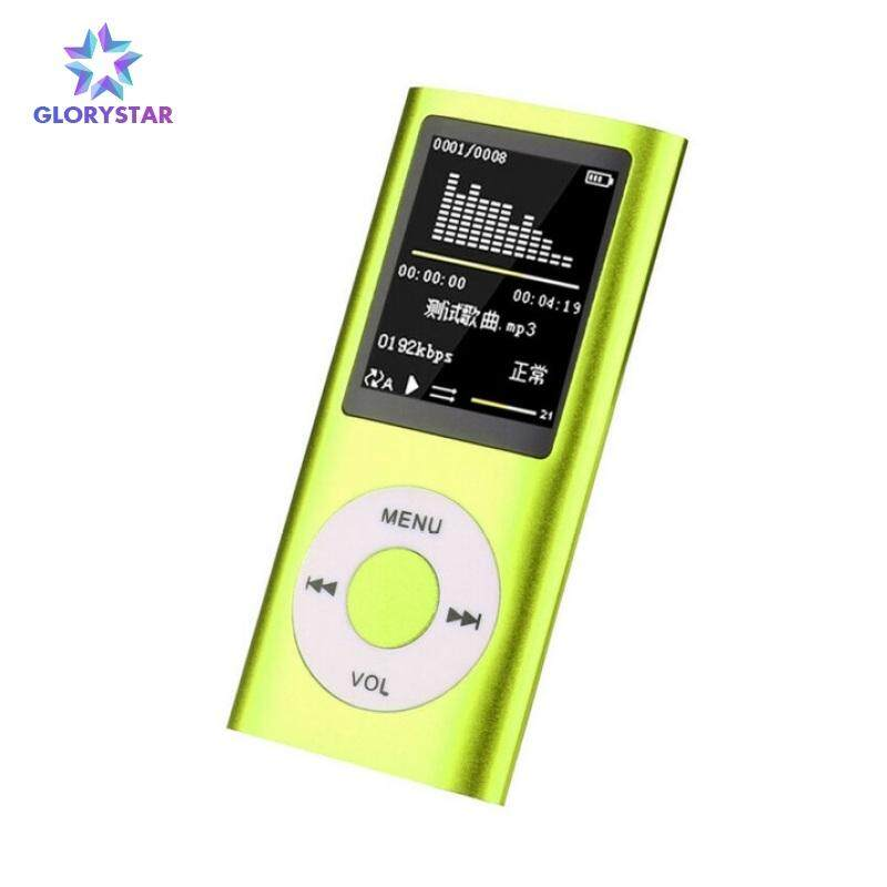 """Portable MP3 MP4 Media Player 1.8/"""" LCD Screen FM Radio Video Support SD Card lot"""