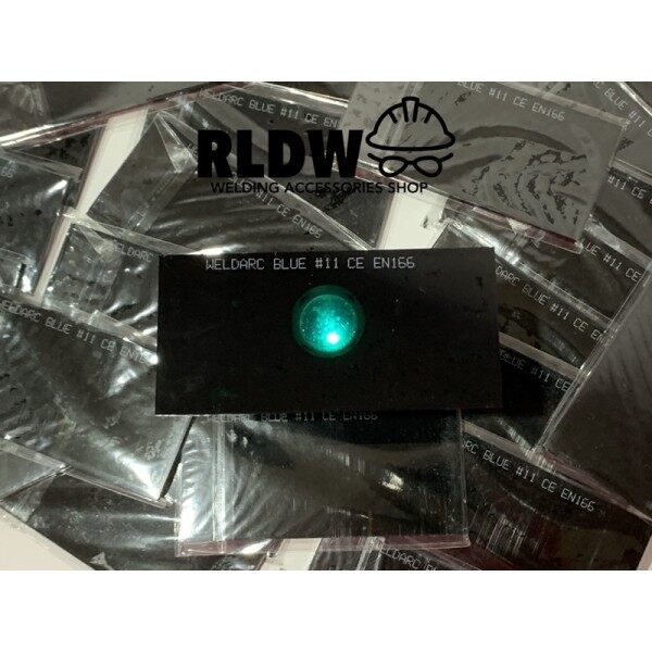 welding cemin hitam biru hijau welding black mirror