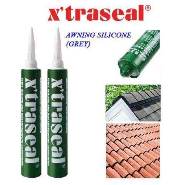 (READY STOCK) XTRASEAL 400ML AWNING GUM AND ROOFING SILICONE BUMBUNG SILIKON GREY