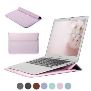 Ốp Máy Tính Xách Tay Cho Apple Macbook Air 13 Pro 16 12 11 15 Cho Ốp Lưng Mac Pro 13 M1 A2338 A2337 A1932 Tay Áo Túi, 2020 A2289 Đứng Bìa thumbnail