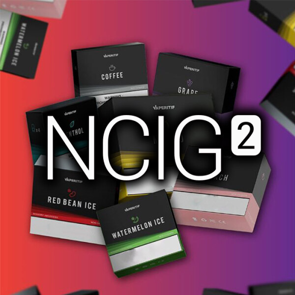 ORIGINAL NCIG V2 NPOD 2 POD Replacement Cartridge Flavor NPOD2 Vape 4 Pieces by NASTY Malaysia