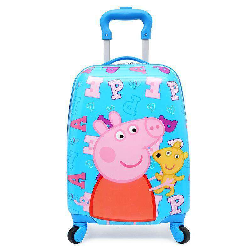 7d01645cf New Cute Cartoon Kids Luggage 18 Inch Travel Cardan Wheel Suitcase Pull Rod  Box Student 4
