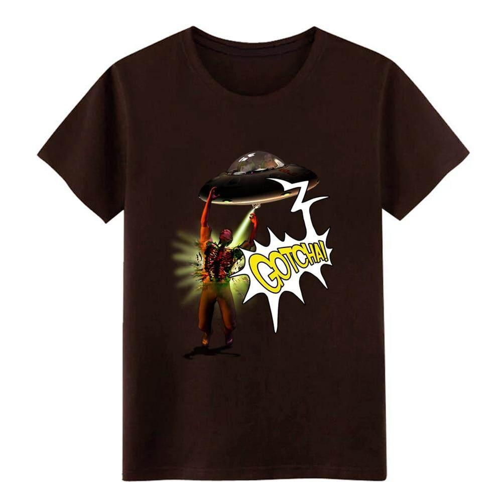 Xingke Pria Kena Kau! T Shirt Kustom 100% Katun S-XXXL Homme Longgar Kasual Gaya Musim Panas Kemeja Penyanggaar