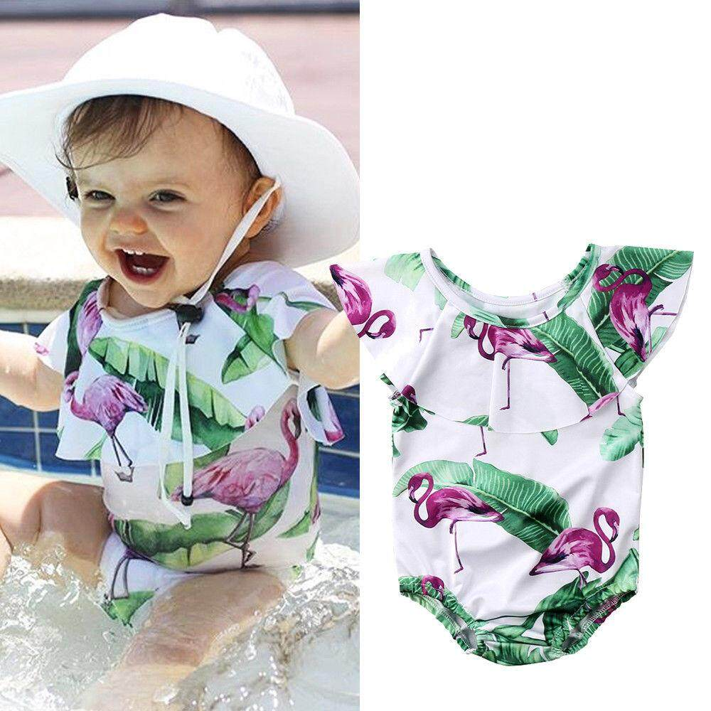 Newest Toddler Baby Girls Floral Tankini Swimwear Swimsuit Bikini Bathing Suit