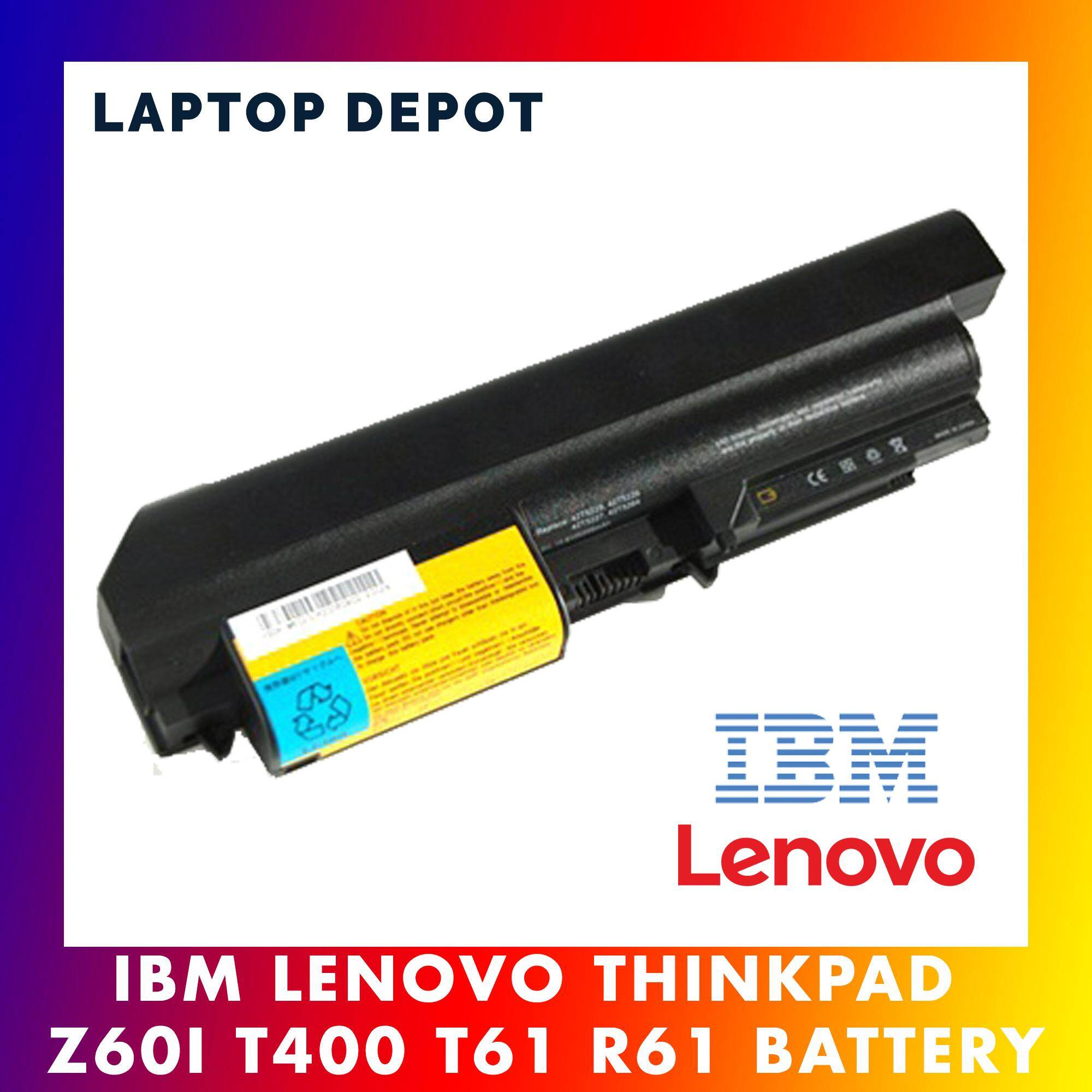 IBM Lenovo ThinkPad R61 T61 R61i R61e R400 T400 Series Laptop Battery Malaysia