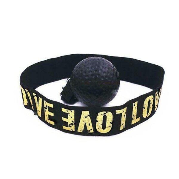 Bóng Đấm Bốc MMA Muay Thái, Với Ban Nhạc Đầu Dụng Cụ Luyện Tập Thời Gian Phản Ứng Chiến Đấu Bóng Phản Xạ Đấm Bốc Phản Ứng Đào Tạo